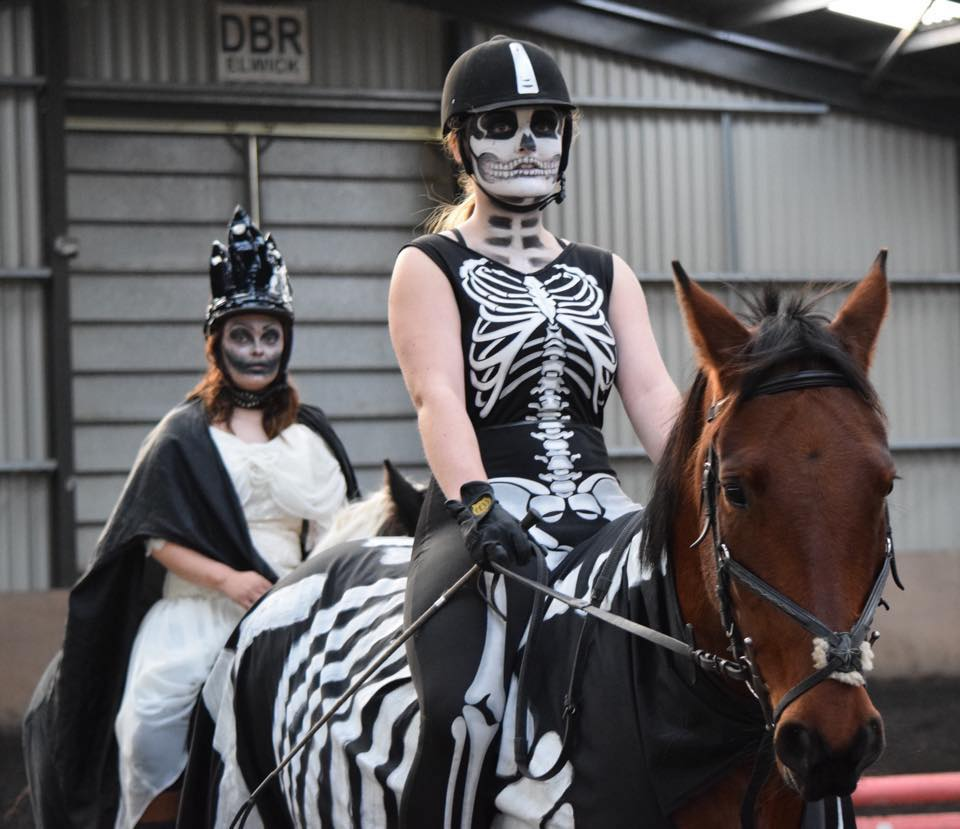 Sunday October 28th  - Unaffiliated Halloween Showjumping